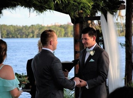 Mario & Jason's Paradise Cove Orlando Adventure- The wedding 9.21.17.
