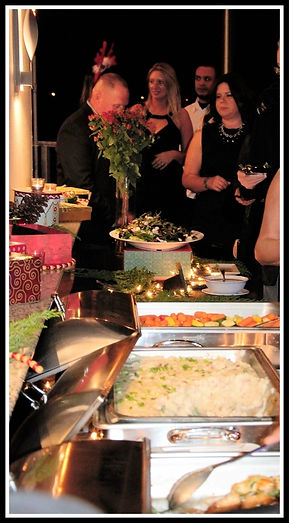Holiday Party catering buffet