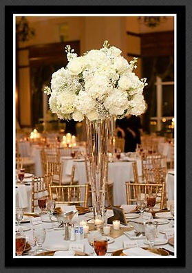 Beautiful Table Settings and Flower Arrangements