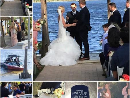A Great Day for a Wedding...Deb & Wally Brinkman @ Beautiful Paradise Cove Orlando - May 20, 201