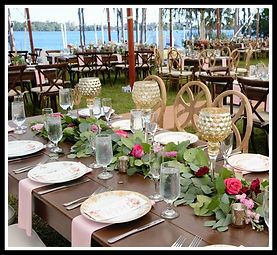 Plus Catering Orlando weddings Paradise Cove Orlando