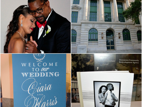 Ciara and Harris's Wedding—  Rhapsody in Red & Blue @ Orange County Regional History Center