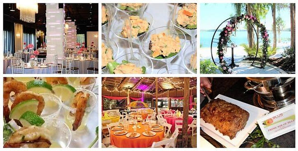 Plus Catering Orlando photo collage