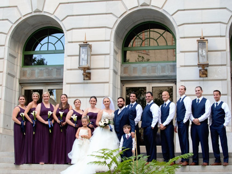 Downtown Orlando Wedding of Courtney & Wesley McLaughlin—Orange County Regional History Center: