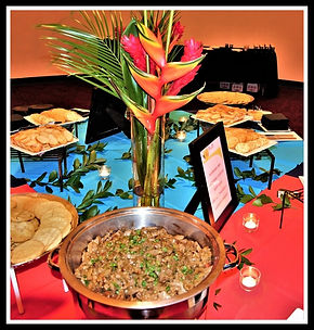 Beef Satay appetizer benefit event Shakespeare Theatre Orlando