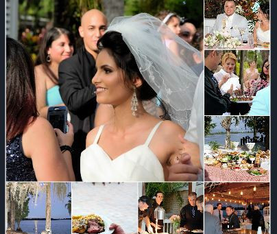 The Clouds Parted for this Paradise Cove Wedding