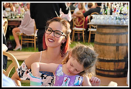 Wedding reception guests at Paradise Cove Orlando