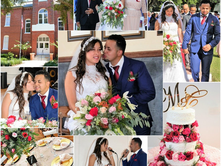 Moises & Carina: Wedding at Historic Venue 1902 at Preservation Hall in Sanford, Florida 7/12/18