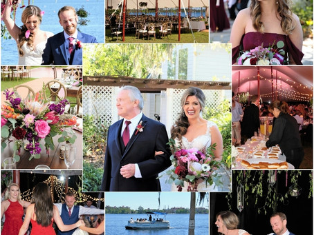 Epic Lakeside Wedding - Kayli & Timmy Paradise Cove Orlando: 3.17.18