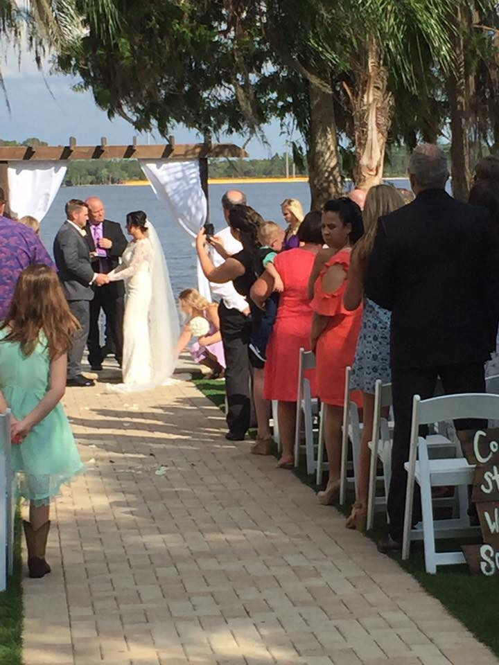 Courtney & Matthew's Wedding @ Paradise Cove Orlando