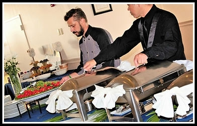 Wedding catering at Tanner Hall in Winter Garden, Florida