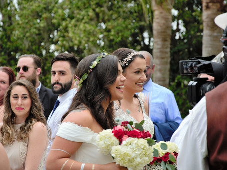 Christina & Chelsea: Wedding Celebration and Reception @ Paradise Cove Orlando