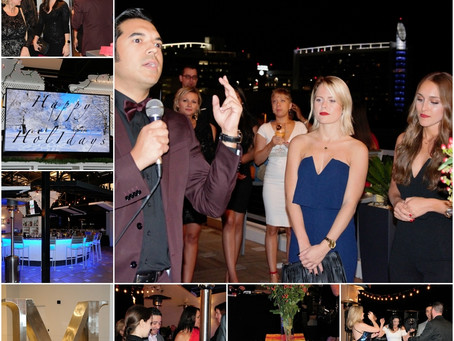 Preferred Real Estate Brokers: Xmas Party 2017 @ M Lounge - 12-17-17