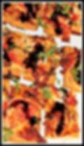 Pizza Appetizer with mozzarella & balsamic vinegar