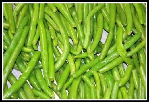 Fresh Green Beans Side Dish