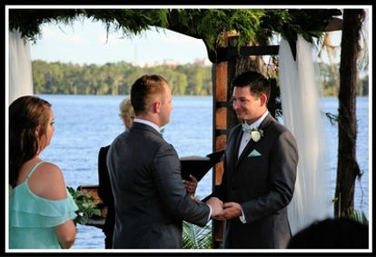 LGBT/Gay wedding in Orlando