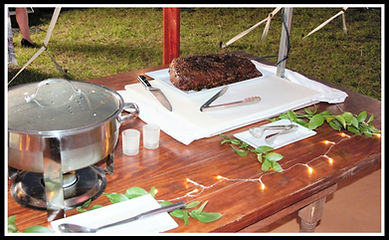 Carving Station with Delicious Beef Entrees