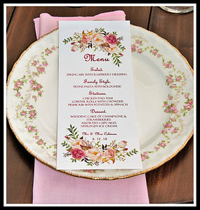 Wonderful Menus for Every Occasion