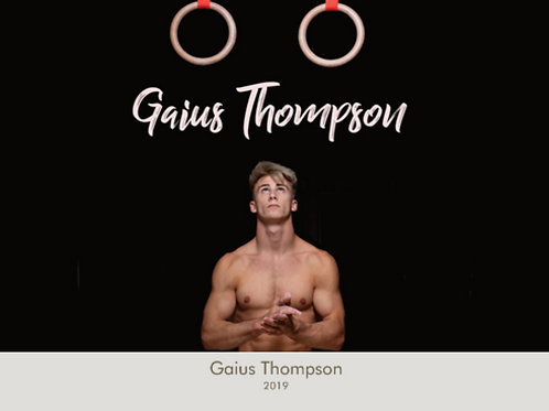 Gaius Thompson 2019 Official Calendar