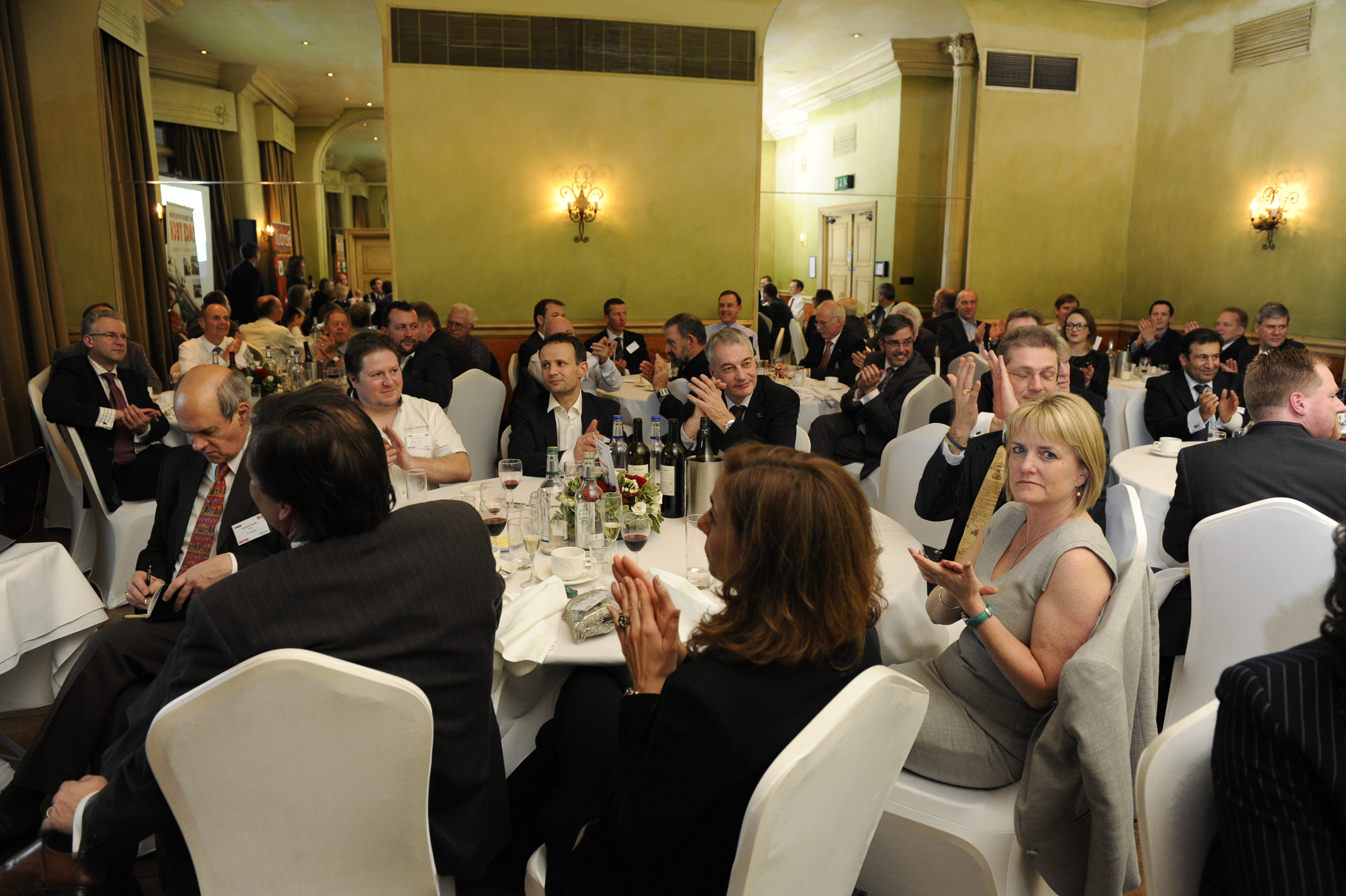 The Networking Awards dinner