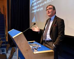 Christopher Tate presenting