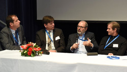 Key industry figures on the panel