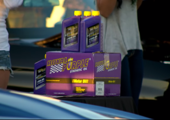 """Royal Purple as seen in the Train music video """"Drive By"""""""