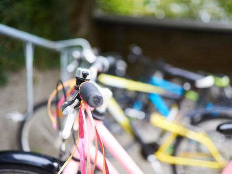 We're turning bags into bike racks