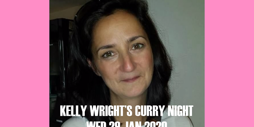 Kelly Wright's Curry Night