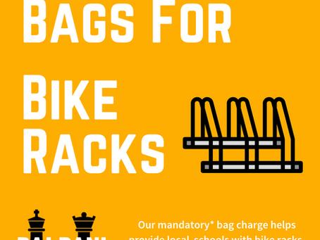 BAGS FOR BIKE RACKS