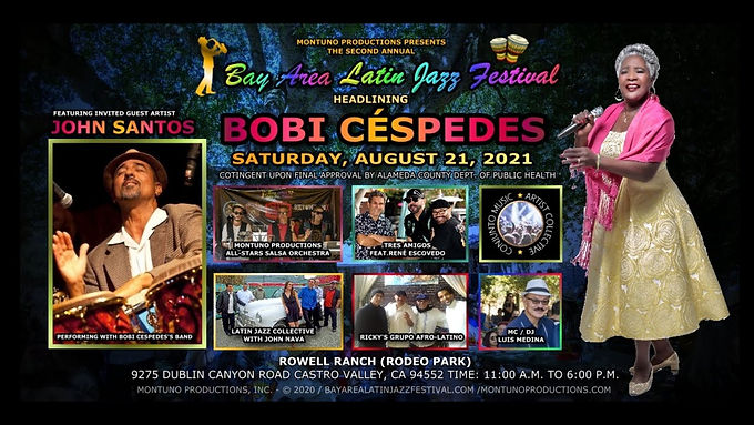 Montuno Productions presents: the 2nd Annual Bay Area Latin Jazz Festival