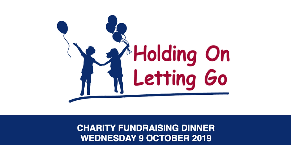"""""""Holding On Letting Go"""" Charity Dinner"""