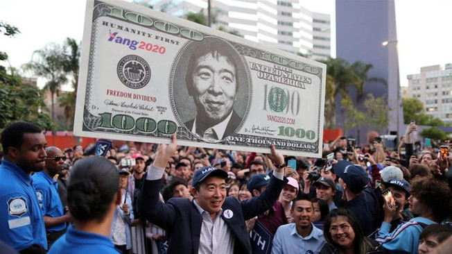 Documentary: Universal Basic Income & Andrew Yang