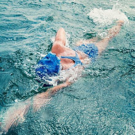 Marathon swimming - female marathon swim