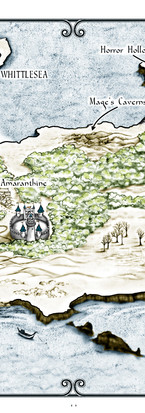 Map of the Timeless Kingdom of Dembroch