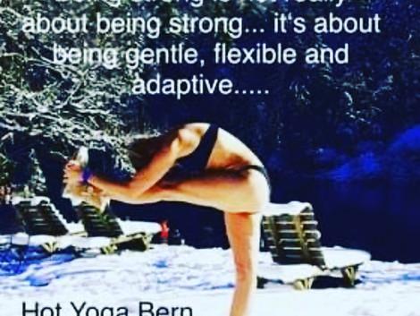 Körperliche & mentale Flexibilität...