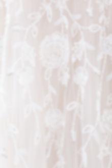Browns Bride sequin details on lace wedding dress