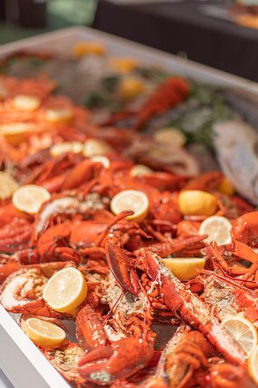 Fresh lobster at Soho House Festival