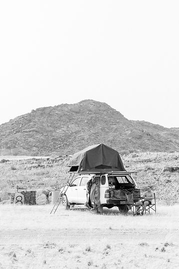 4x4 car with rooftop tent camping Namibia South Africa