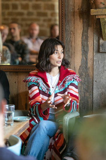 Jasmin Hemsley taking on panel at Food Summit Soho Farmhouse