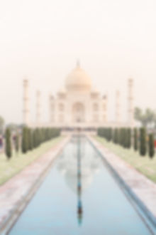 Taj Mahal Palace in Agra India