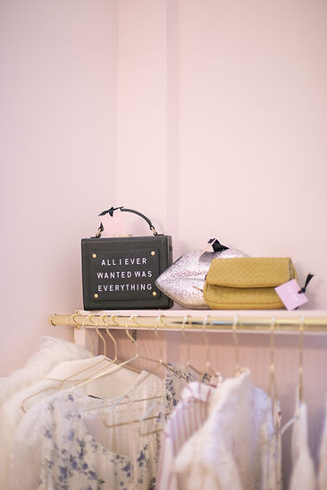 All I Ever Wanted Was Everything handbag at Hurr pop-up