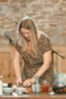 Chef Anna Jones cooking demo at Food Summit Soho Farmhouse