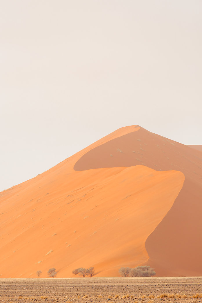 Landscape of Dune 45 sossusvlei in Namibia South Africa