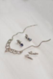 Bride jewellery luxury London wedding photography