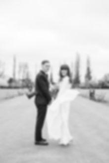Bride and Groom in Regent's Park luxury London wedding photographer