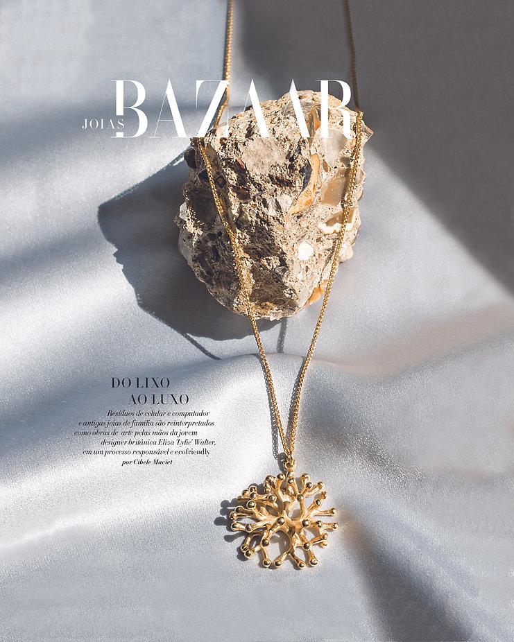 Sustainable jewellery Lylies in Harpers Bazaar
