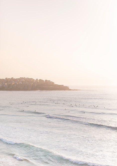 Sunrise. Bondi Beach, Australia.