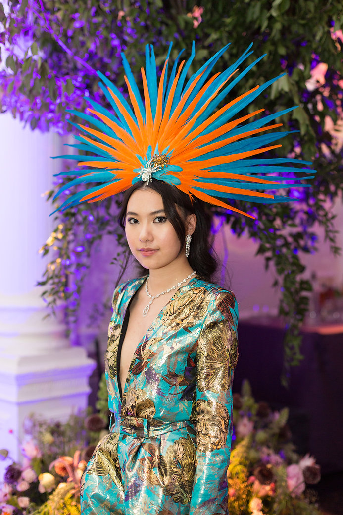 Colourful headress 21st birthday party fancy dress outfits