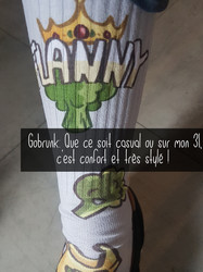 Chaussette Flanny Reine brocoli